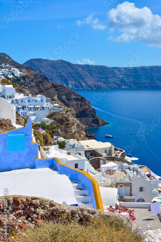 The traditional architecture of Santorini