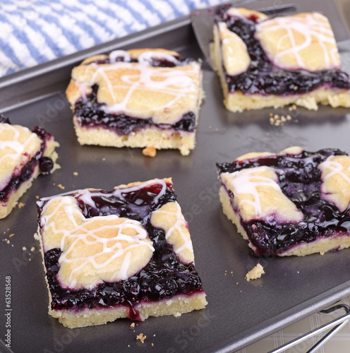 Blueberry Bar Dessert