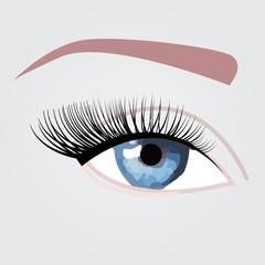 Nice blue eye