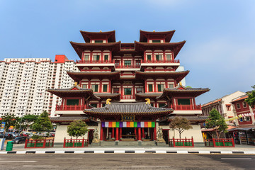 The Buddha Tooth Relic Temple, Chinatown, Singapore