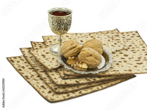 Traditional Passover Meal