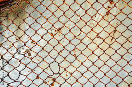 Rusty screen