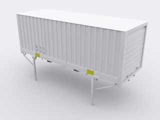 Isolierter Wechselcontainer