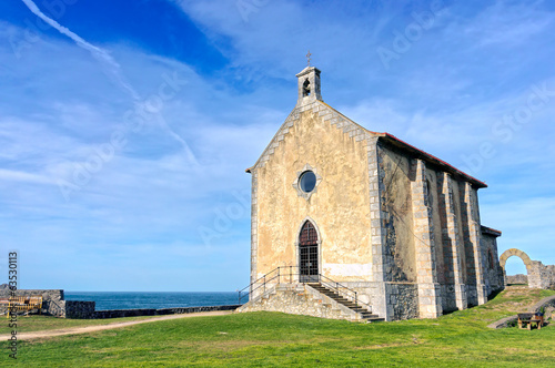 Santa Catalina hermitage in Mudaka. Basque Country
