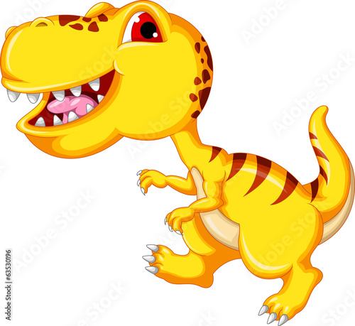 cheerful dinosaur