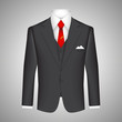Business suit concept