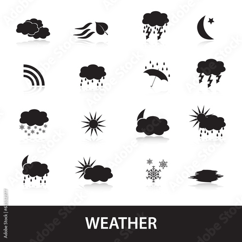 weather symbols eps10
