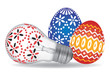 Easter Eggs and Easter Bulb