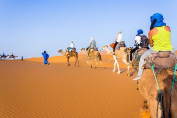 Caravan on Sahara