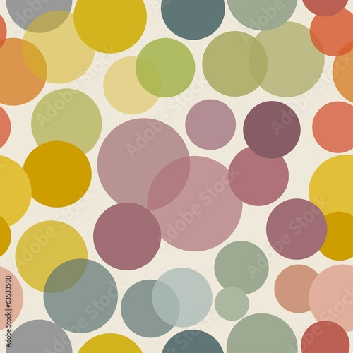 Abstract seamless background with dots
