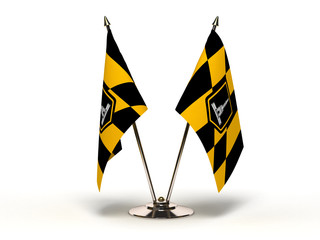 Miniature Flag of Baltimore Maryland