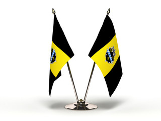 Miniature Flag of Pittsburgh Pennsylvania