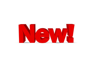 """NEW!"" (marketing newsletter label stamp icon special offers)"