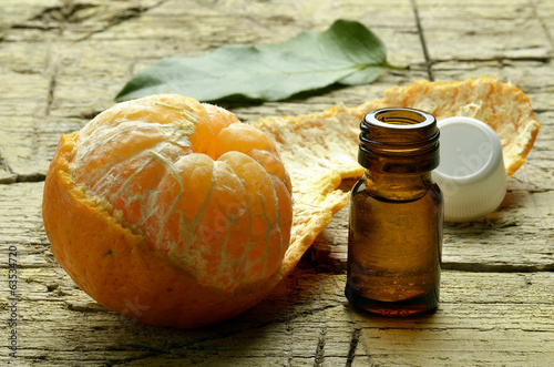 canvas print picture Citrus reticulata Mandarine Mandarino Mandarin orange