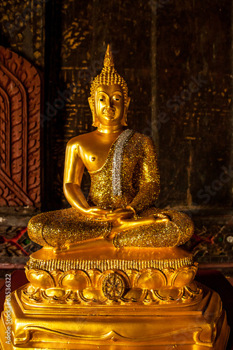 Image of Golden buddha statue