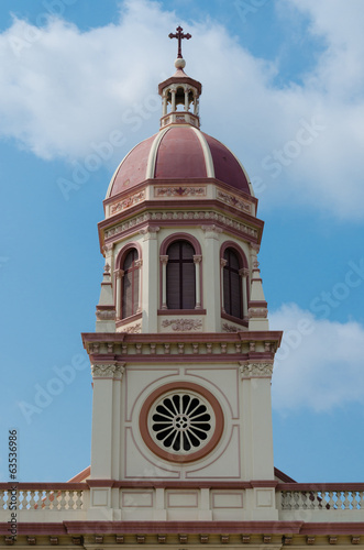 Steeple of Santa Cruz Church (Bangkok, Thailand)