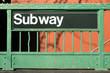 Subway entrance - New York City style - 63537974