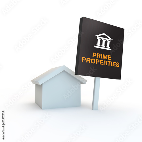 prime exclusive new homes and properties symbol