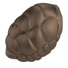 realistic 3d render of shell of turtle