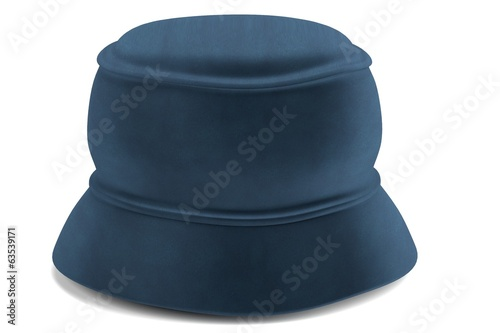 realistic 3d render of hat