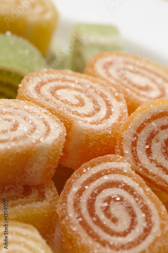 Marmalade in sugar