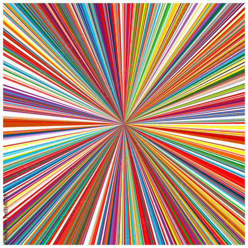 Abstract color stripes zoom background