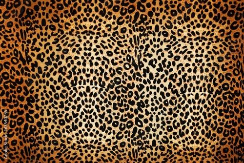 canvas print picture leopard pattern