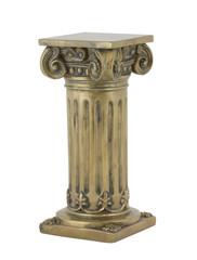 Decorative bronze Antique column