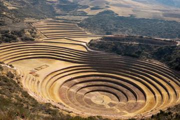 Peru - Moray Inca ruin
