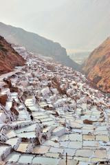 Peru - salt pans at Maras