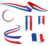 Fototapety Francia bandiera