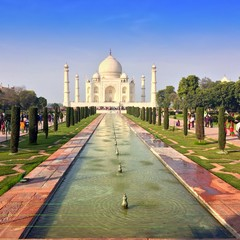 Taj Mahal.Agra.India