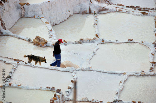 Peru - salt pans at Maras