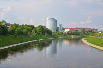 View of city channel