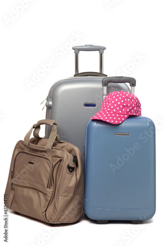 Travel bags with cap