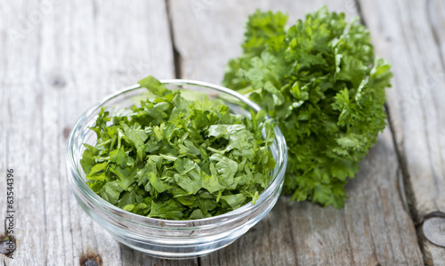 Fresh cutted Herbs (Parsley)