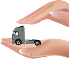 camion motrice
