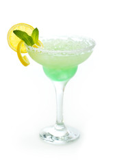 Margarita cocktail in a glass
