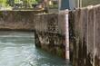 Leinwanddruck Bild - Water Level Meter