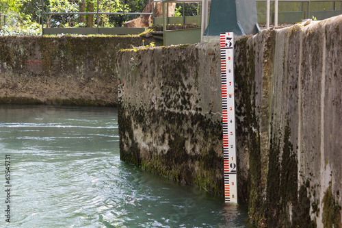Aluminium Kanaal Water Level Meter
