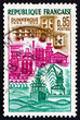 Postage stamp France 1962 View of Dunkirk