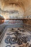 Roman baths at the ancient city of Herculaneum, Italy