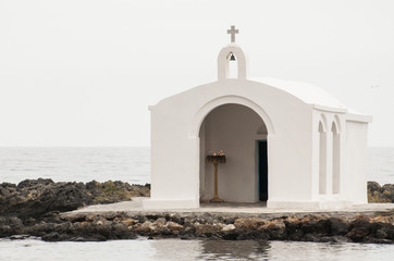 Chapel in the sea