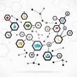 Complex internet network