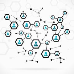 Complex business network