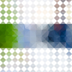 Green and blue defocused background with bright stripe