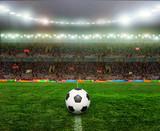 Fototapety Soccer bal.football,