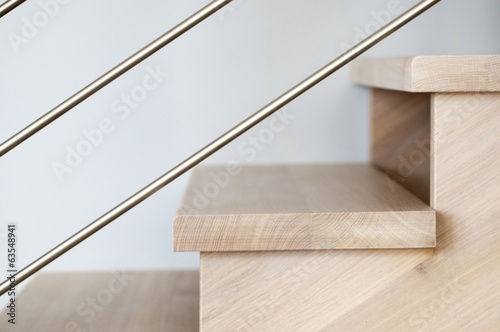 Wooden stairs - 63548941