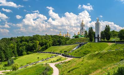 Kiev Pechersk Lavra Orthodox Monastery and Memorial to famine