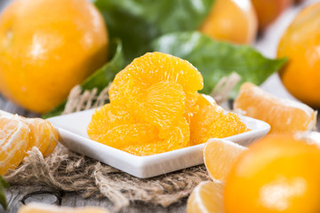 Preserved Fruits (Tangerines)